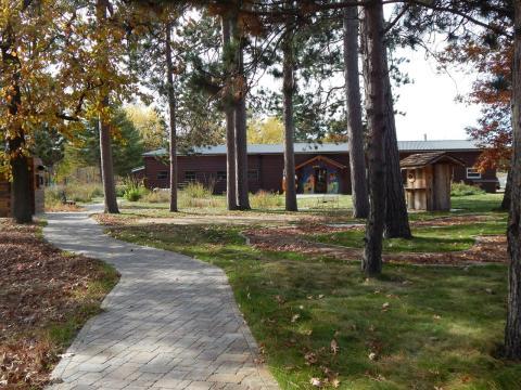 Viiew of Linda Ulland Memorial Gardens
