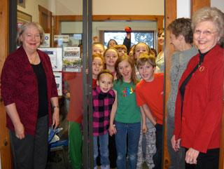 Eagleview elementary students tour KLKS Radio Station