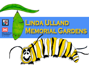 Linda Ulland Memorial Gardens is a partnership between Paul BUnyan Scenic Byway Association and the US Army Corps of Engineers.